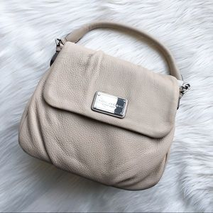 NWT Marc Jacobs Classic Leather Shoulder Bag Purse
